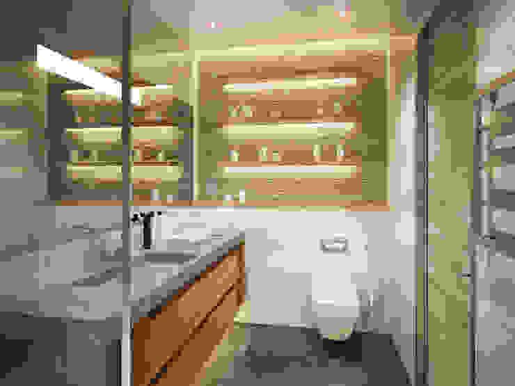 Polovets design studio의  욕실