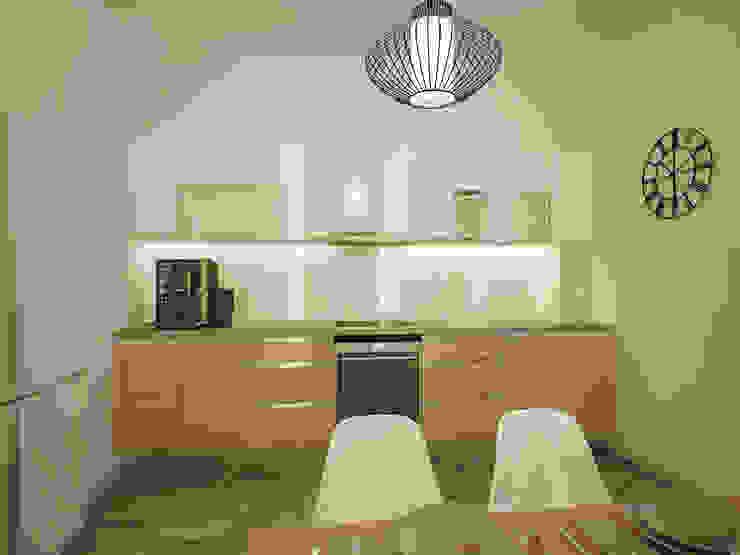 Minimalist kitchen by Polovets design studio Minimalist