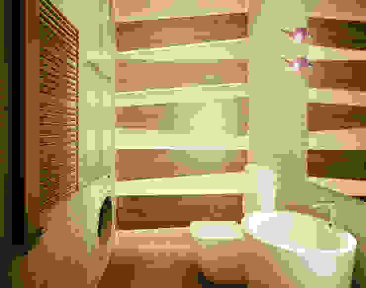 Квартира в современном минимализме Ванная комната в стиле минимализм от Polovets design studio Минимализм
