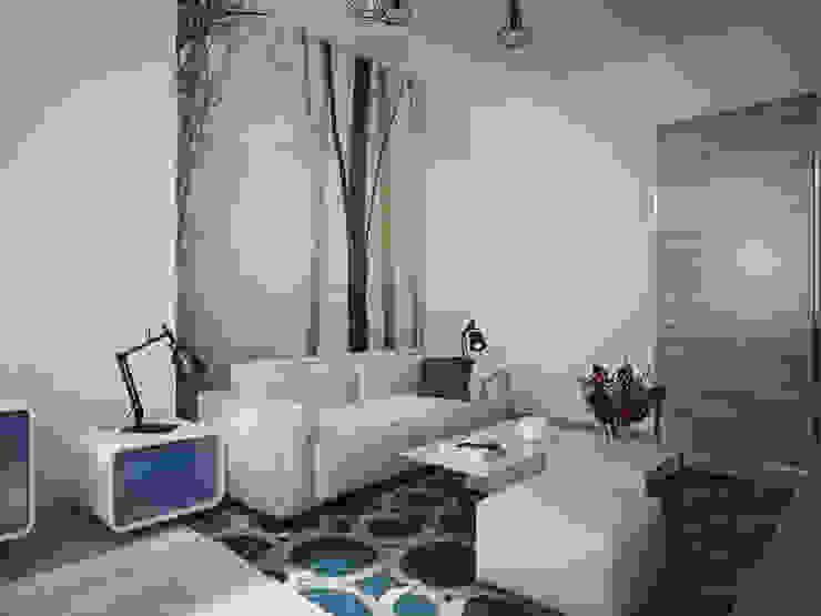 Квартира в современном минимализме Спальня в стиле минимализм от Polovets design studio Минимализм