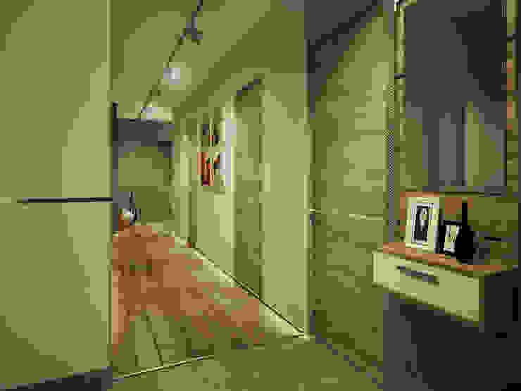 Minimalist balcony, veranda & terrace by Polovets design studio Minimalist