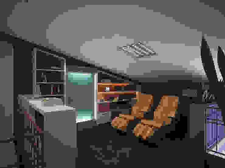 Зона отдыха Медиа комната в стиле лофт от Polovets design studio Лофт