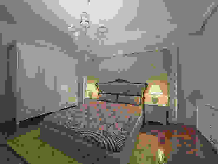 Спальни Спальня в классическом стиле от ООО ПрофЭксклюзив Студия дизайна интерьеров Классический