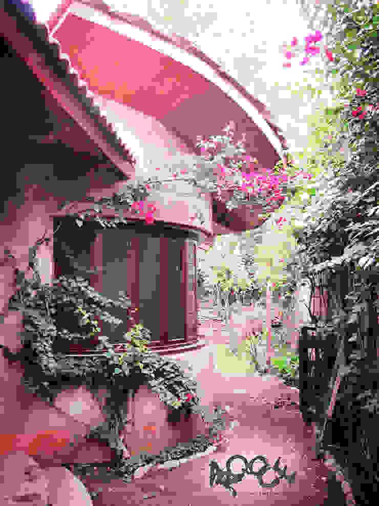 Jardin rustique par CONSTRUCTORA ARQOCE Rustique