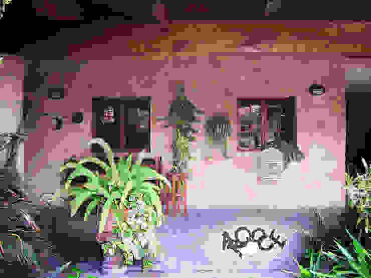 Balcon, Veranda & Terrasse rustiques par CONSTRUCTORA ARQOCE Rustique