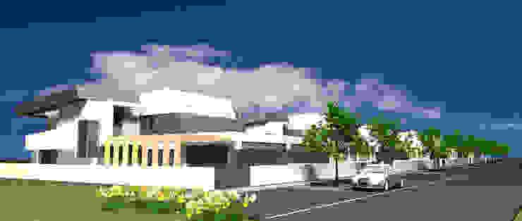 P309_2007 Quinta da Luz Quintas Ílhavo - www.vitoria.com.pt Casas ecléticas por José Vitória Arquitectura Eclético