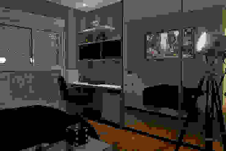 Suíte Menino 1 Quartos modernos por Renato Lincoln - Studio de Arquitetura Moderno