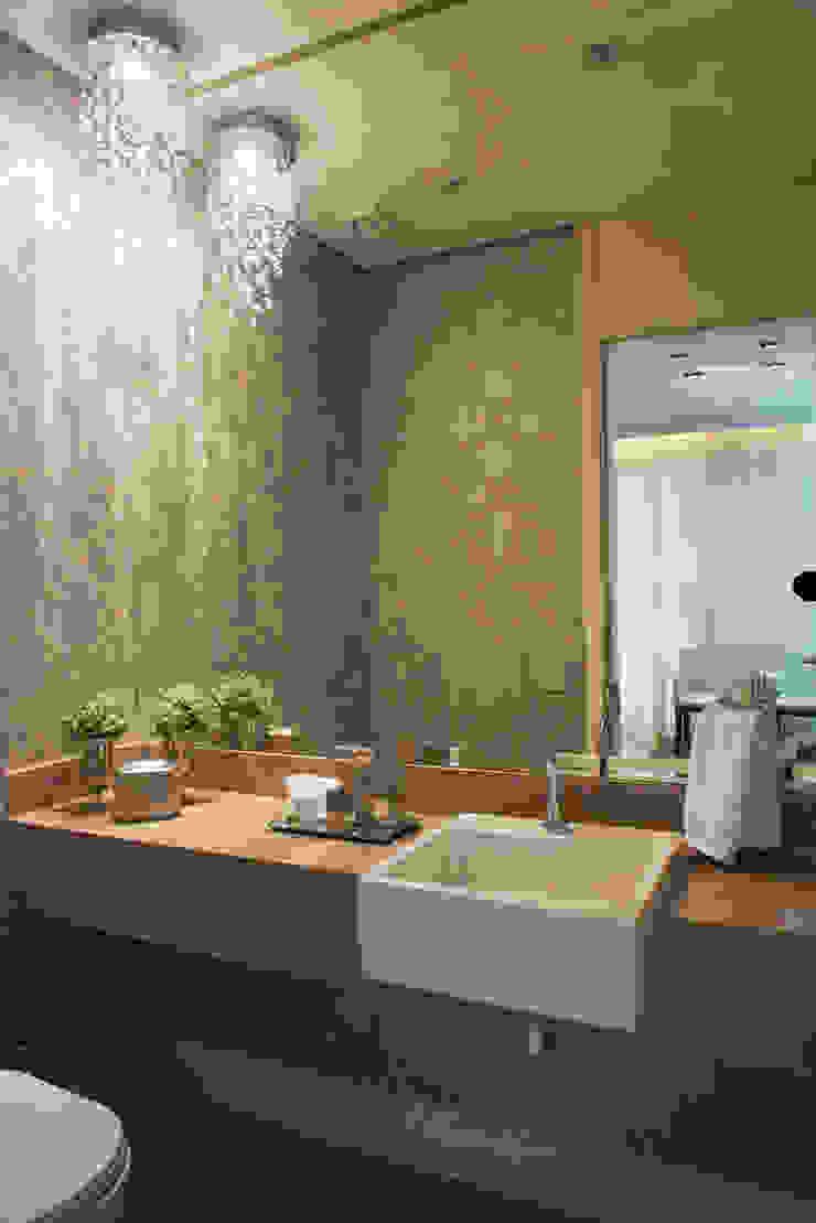 Lavabo Banheiros clássicos por Renato Lincoln - Studio de Arquitetura Clássico