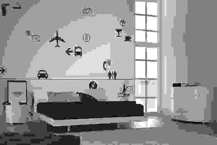 Mural wallpaper, point wallpaper: U2의 현대 ,모던