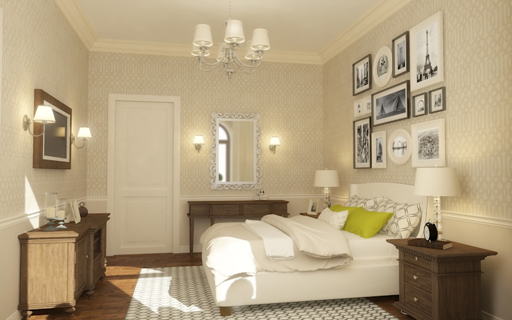Classic style bedroom by studio forma Classic