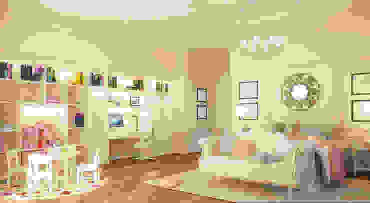 Интерьер особняка в американском стиле Детская комнатa в классическом стиле от studio forma Классический