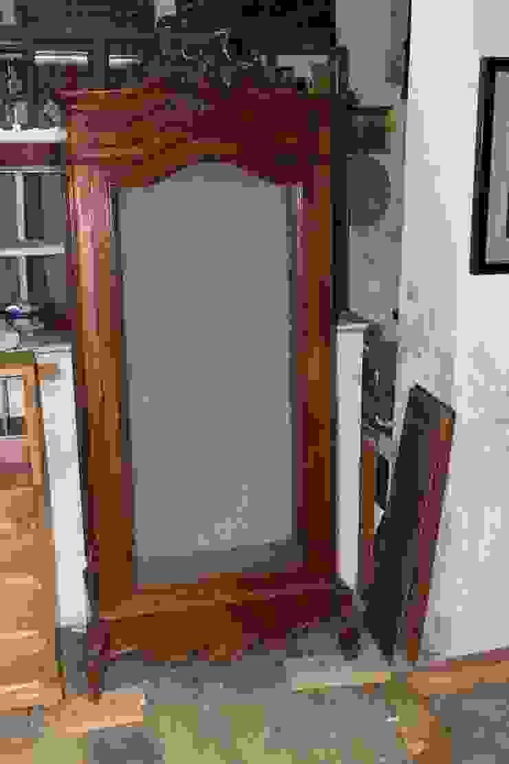 La nueva vida de una antigua vitrina de Dominique Restauración