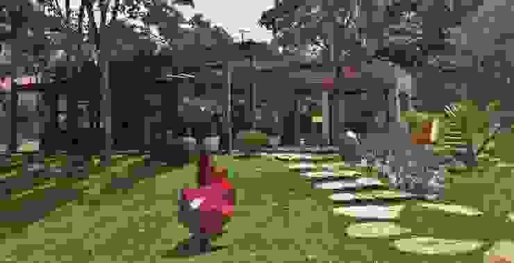 Casas de estilo  por Kika Prata Arquitetura e Interiores.,