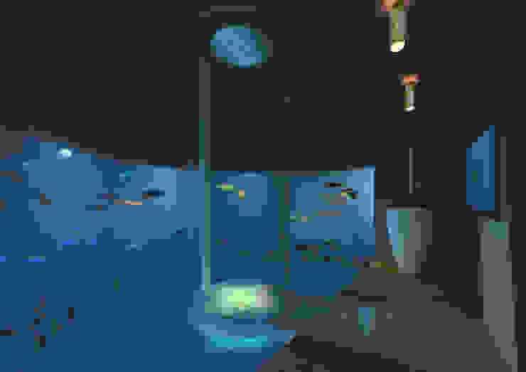 gk architetti (Carlo Andrea Gorelli+Keiko Kondo) Baños de estilo minimalista