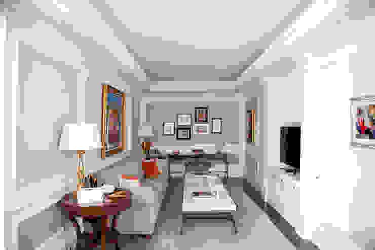 Çubukluvadi Evi - TV ODASI Modern Multimedya Odası Kerim Çarmıklı İç Mimarlık Modern