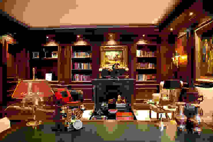 Çubukluvadi Evi Modern Çalışma Odası Kerim Çarmıklı İç Mimarlık Modern