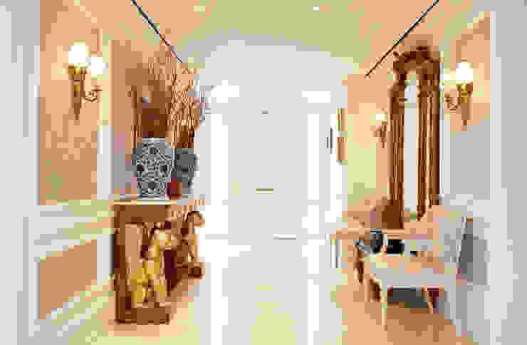 Modern corridor, hallway & stairs by Kerim Çarmıklı İç Mimarlık Modern