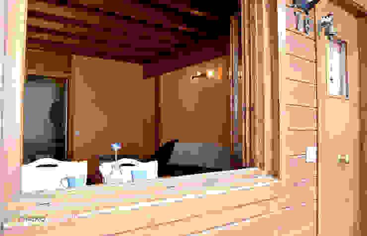 Home Staging Andorra_vistas desde exterior Comedores de estilo rústico de muxo Studio Rústico