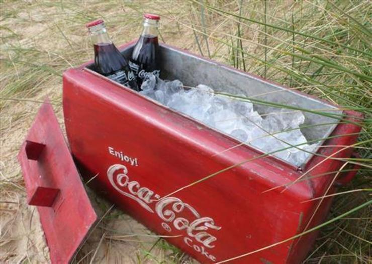 Vintage Coca Cola Cool-Box:  Household by Vintage Archive,