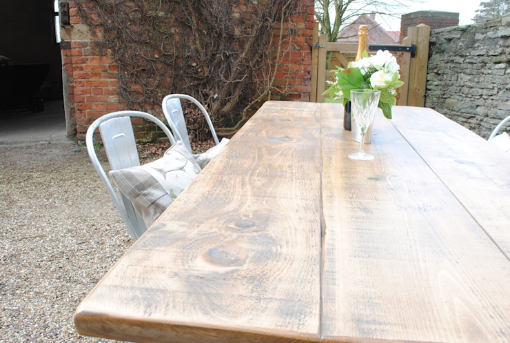 Table top X frame table- Dove & Grey: country  by Dove and Grey, Country