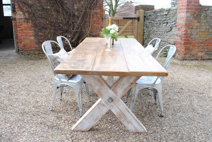 X Frame table: country  by Dove and Grey, Country
