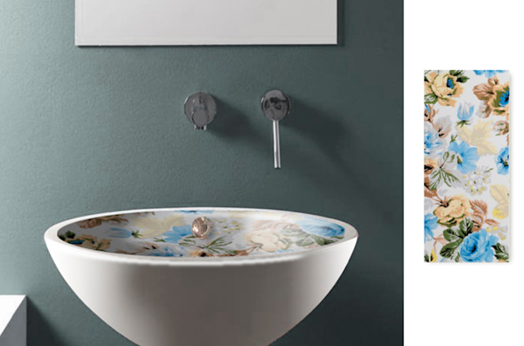 Lavabo baño Vintage 5 de Astris Moderno