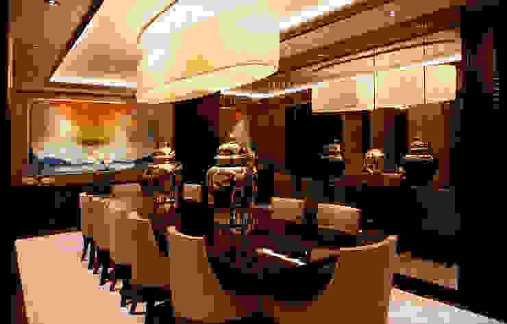 D.M.U. ARNAVUTKÖY EVİ II Modern Yemek Odası Kerim Çarmıklı İç Mimarlık Modern