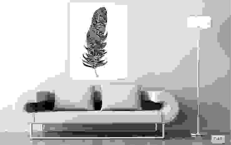 obrazy na płótnie Canvas od Inoutprint Minimalistyczny