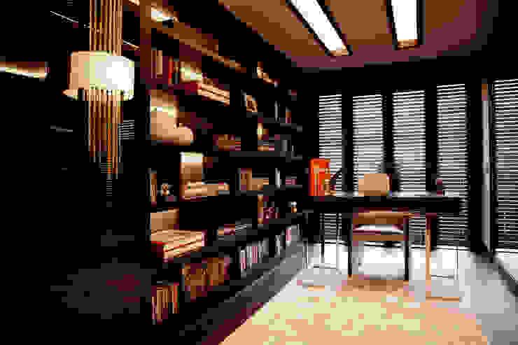 D.M.U. ARNAVUTKÖY EVİ II Modern Çalışma Odası Kerim Çarmıklı İç Mimarlık Modern