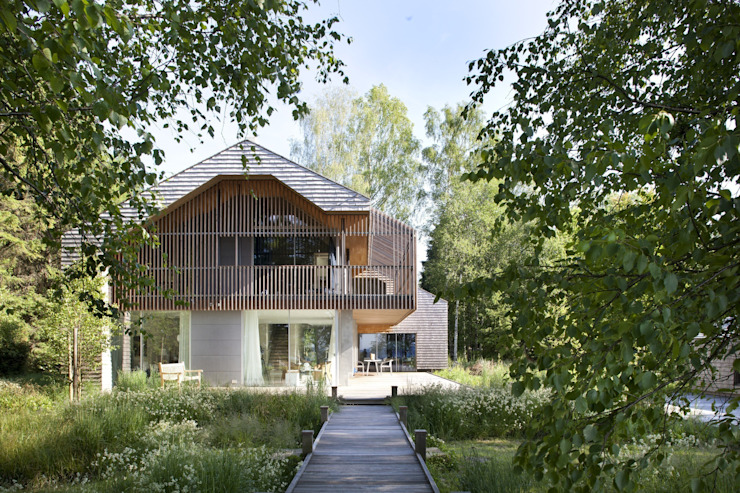 Scandinavian style houses by architekt stephan maria lang Scandinavian