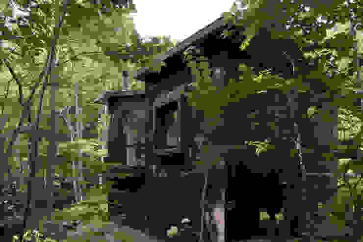 Nowoczesne domy od アカサカシンイチロウアトリエ/Akasaka Shin-ichiro Atelier Nowoczesny