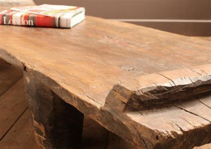 Tribal Coffee Table : rustic  by Vintage Archive, Rustic