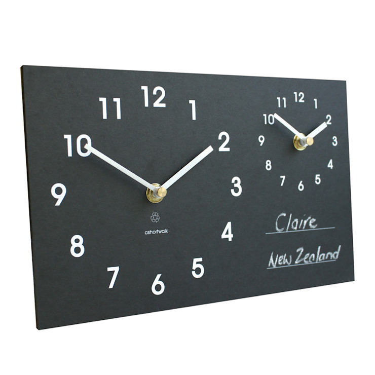 Eco Time Zone Clock: classic  by ashortwalk, Classic