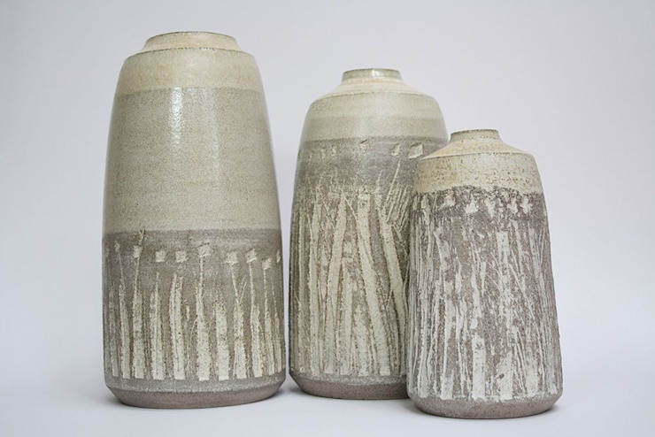Gray van HENRIETTE MEIJER ceramics Industrieel