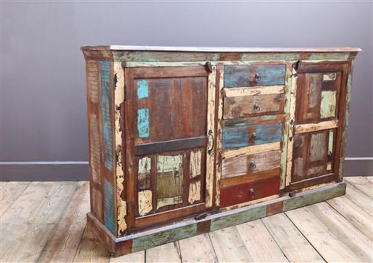 Recycled Teak Kitchen Cupboard: rustic  by Vintage Archive, Rustic