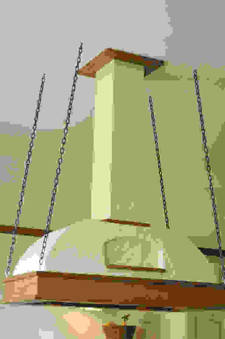 Okap ręcznie wykonany Rustykalna kuchnia od 'Rustykalnia' Sztuka Wnętrza Rustykalny