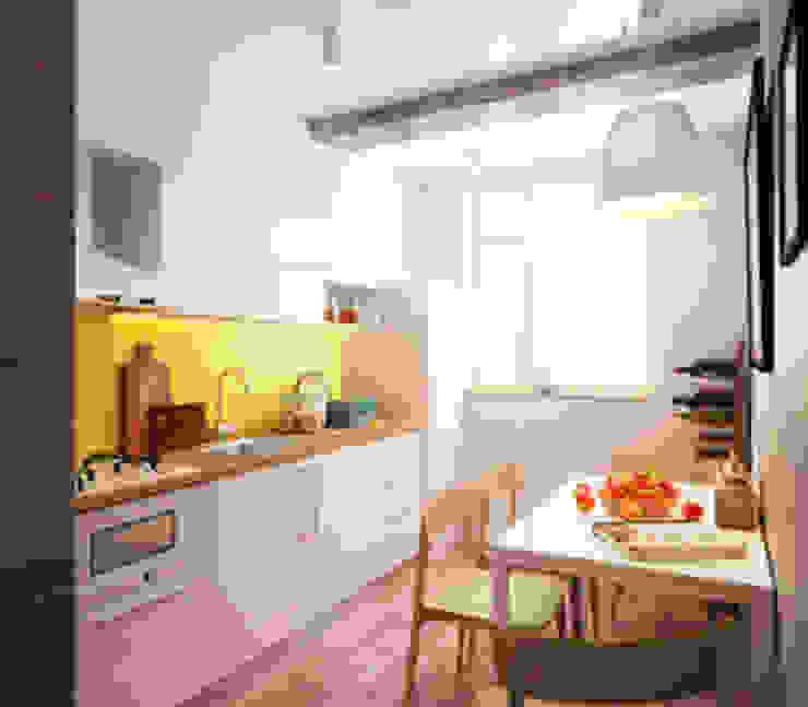 KEFIR HOME Кухня в стиле минимализм от IK-architects Минимализм