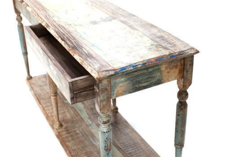 Up-cycled KItchen Sideboard : rustic  by Vintage Archive, Rustic