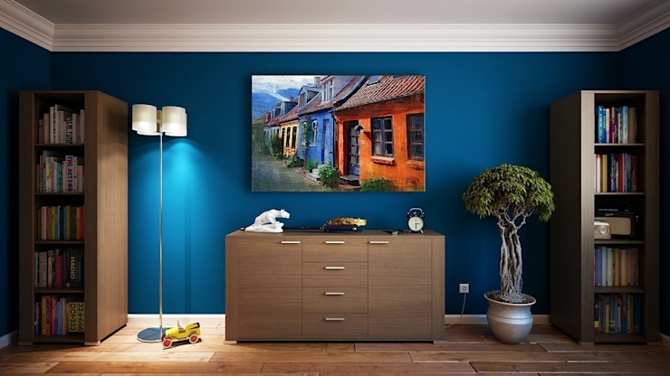 blau: modern  von Cocooninberlin,Modern