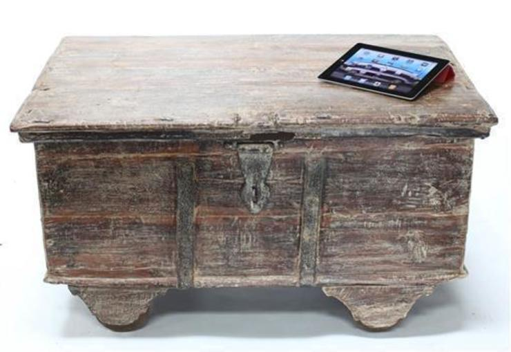 Vintage Wooden Trunk: asian  by Vintage Archive, Asian