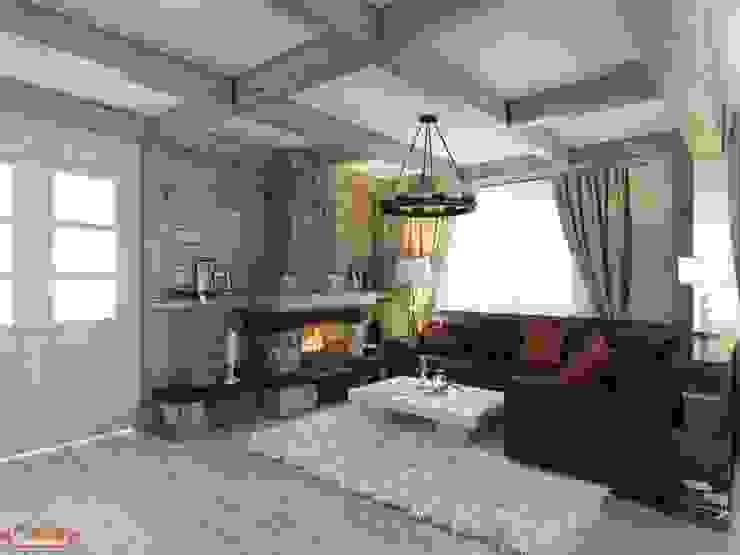 Salas de estilo rural de MoRo Rural