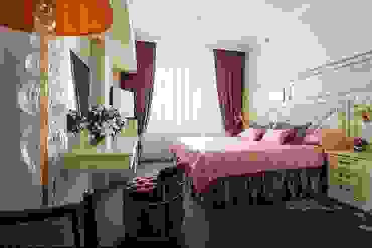 Гостиничный номер Гостиницы в эклектичном стиле от ELENA RUMYANTSEVA Эклектичный
