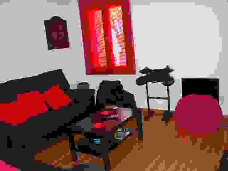 Salas de estilo rural de MODULAR HOME Rural
