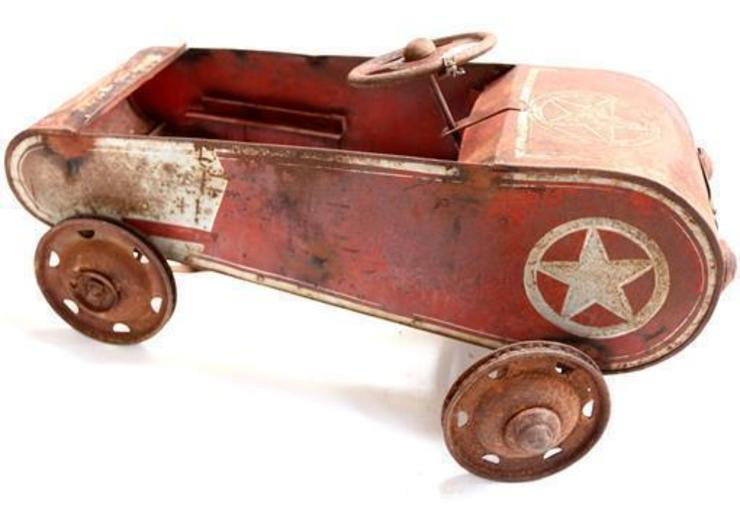 Rare Vintage Pedal Car: industrial  by Vintage Archive, Industrial