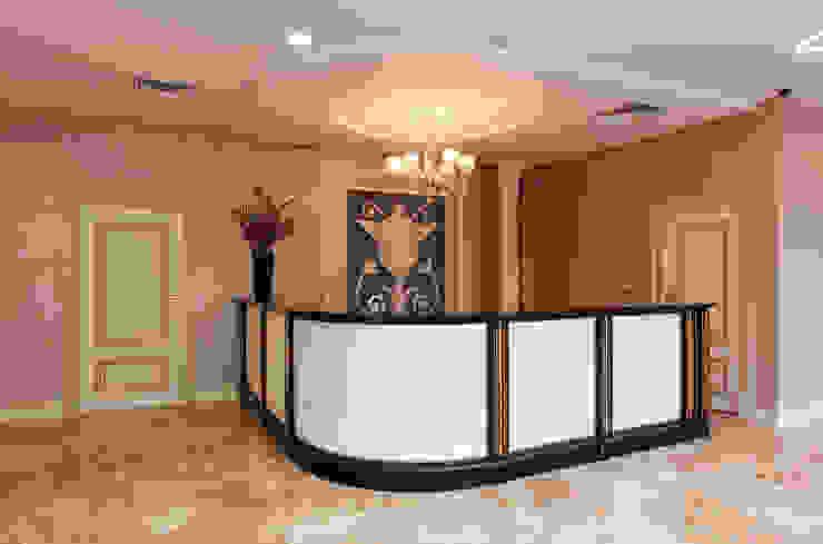 Стойка для конференций 2 этаж Гостиницы в эклектичном стиле от ELENA RUMYANTSEVA Эклектичный