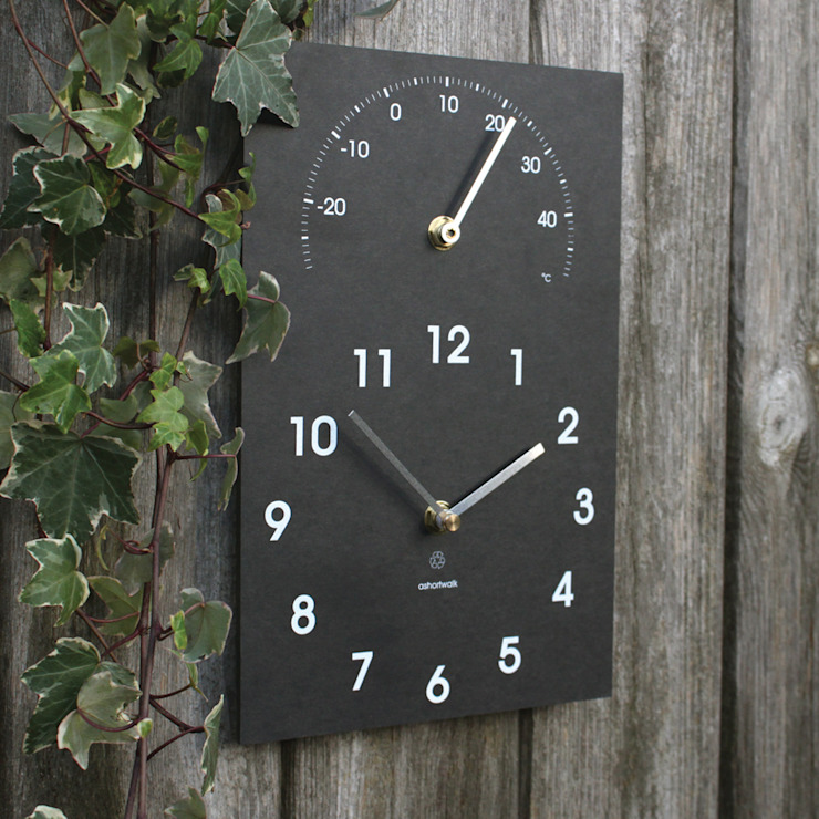 Eco Clock/Thermometer: classic  by ashortwalk, Classic