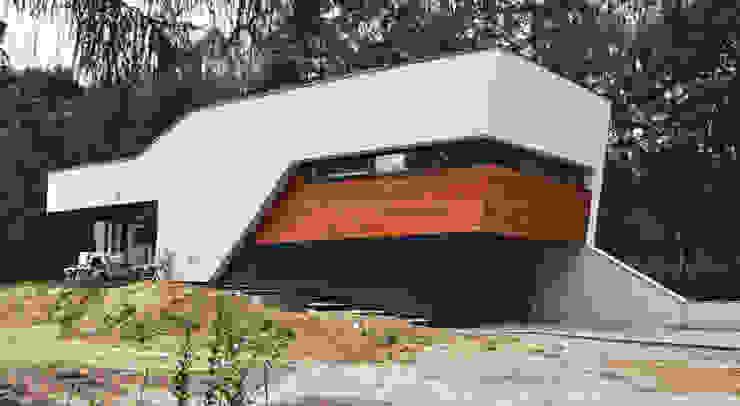 Dom w Rybniku Nowoczesne domy od STRUKTURA Łukasz Lewandowski Nowoczesny