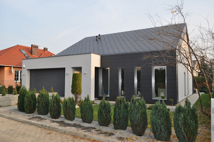 Minimalist house by STRUKTURA Łukasz Lewandowski Minimalist