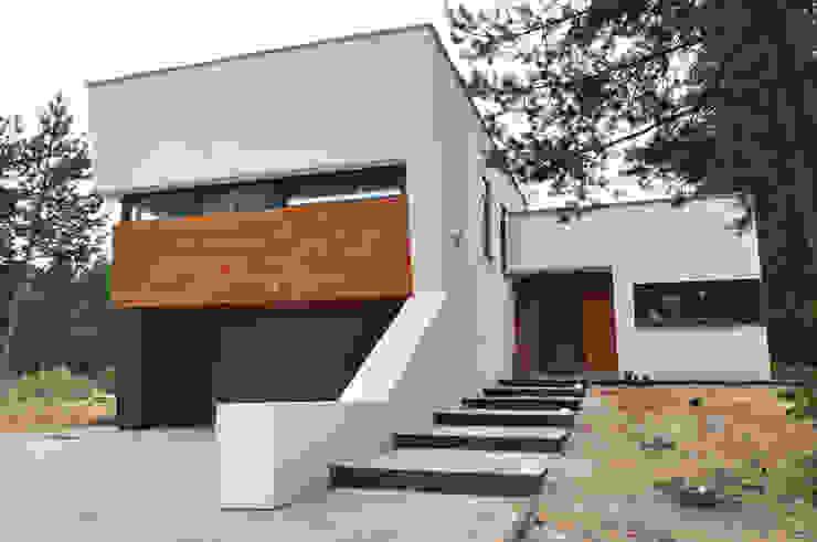 STRUKTURA Łukasz Lewandowski Casas modernas: Ideas, diseños y decoración