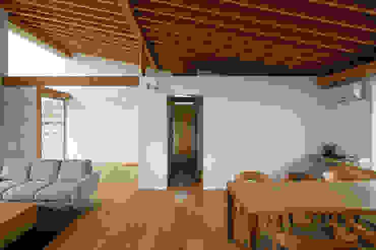 稲荷台の家 モダンデザインの ダイニング の プラスデザイン1級建築士事務所 モダン
